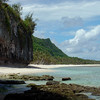 Coastline in northwestern Guam